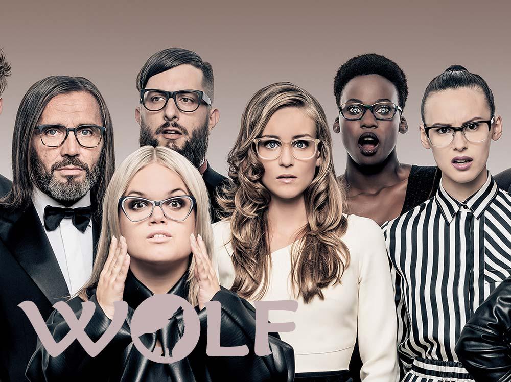 Wolf Designer Ffames